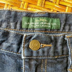 Lauren by Ralph Lauren Straight Leg Jean